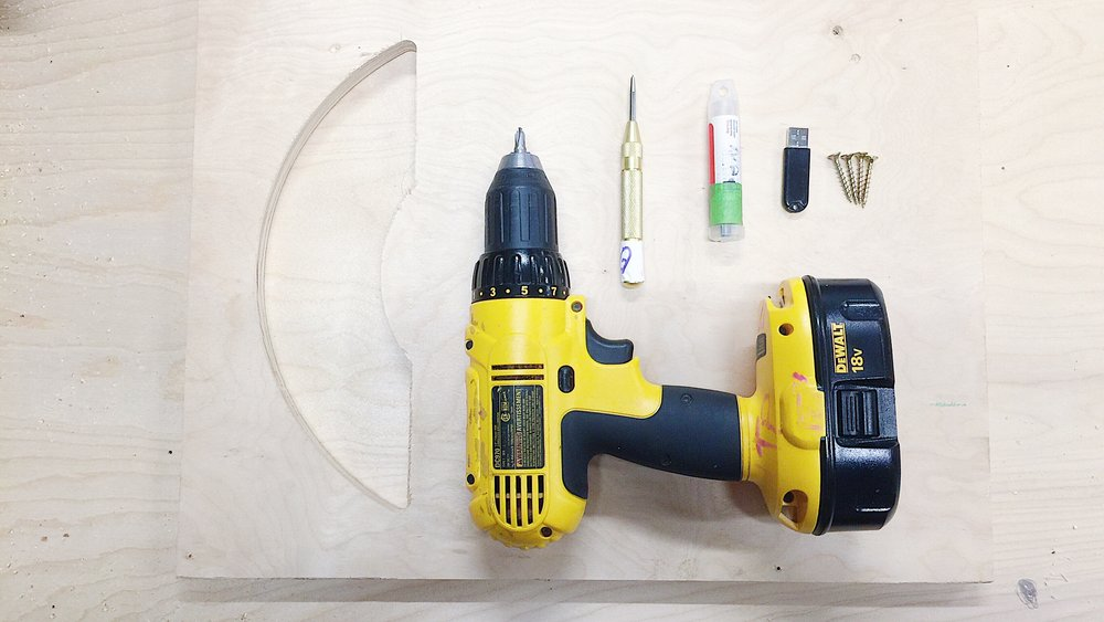 my tools and materials