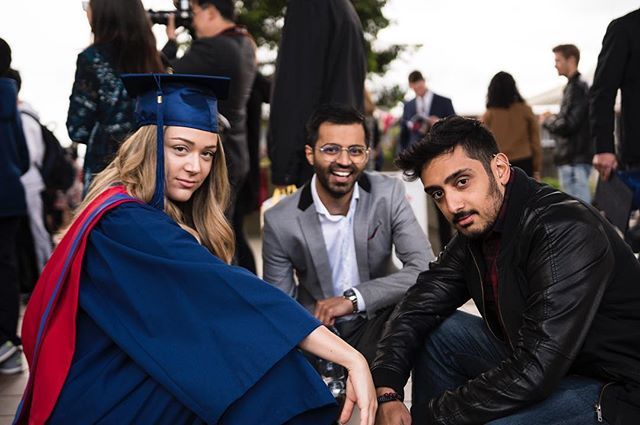 Congratuladulations to the incredible @tianamarc on graduating today. The sky is the limit for you fam!!! 🎓🎉🎉🎉🎉 We also think this photo is super cool 😎