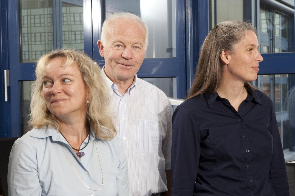 Simone Rothbauer + Dr. Dieter Schwinkendorf +Astrid Pridik