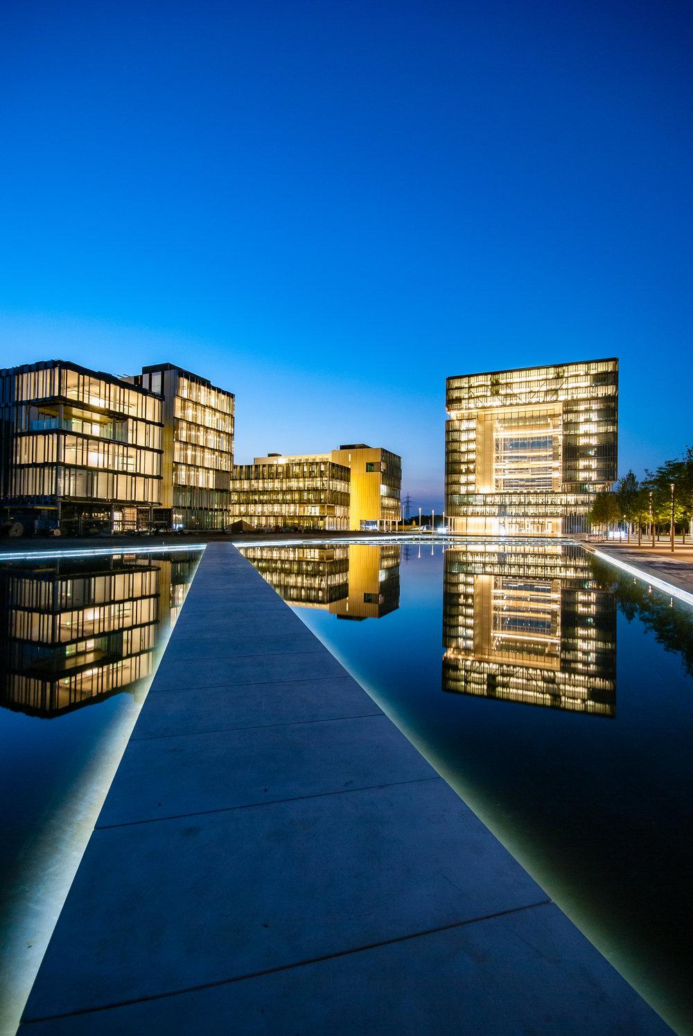"""TKQ, """"Forum"""", Essen / JSWD Architekten GmbH & Co. KG, Köln / Foto: Georg Sehrbrock; Die Lichtreporter"""