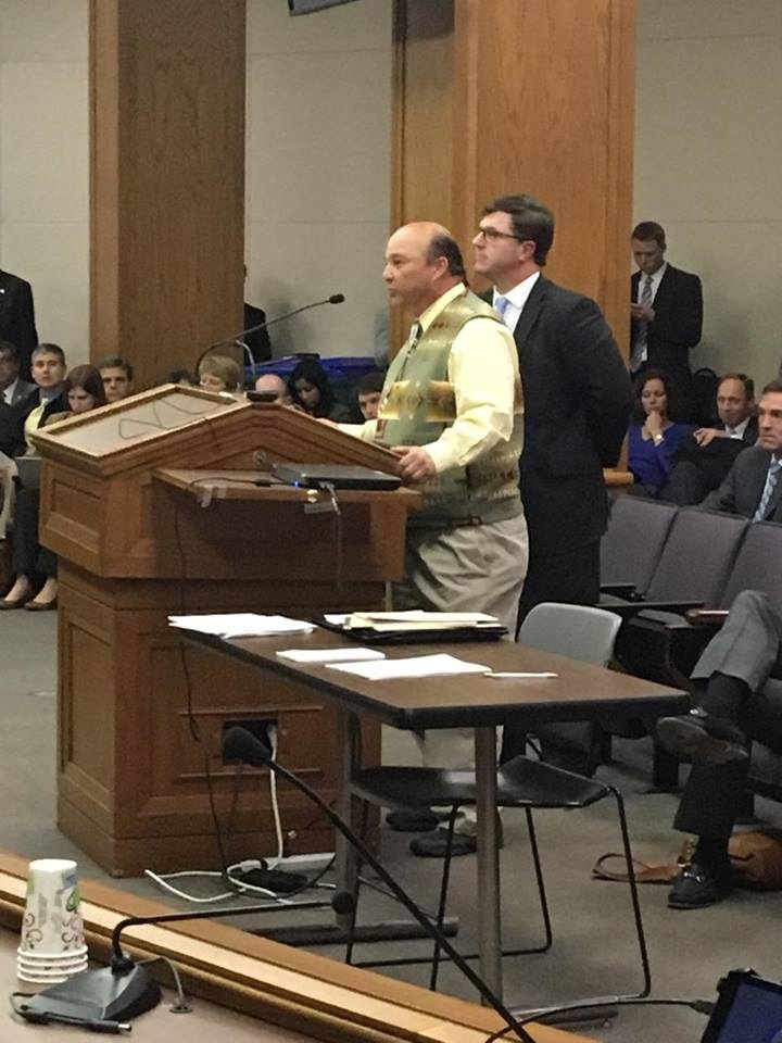 Mattaponi Chief Mark Custalow testifies in House Committee in Support of House Bill 1952