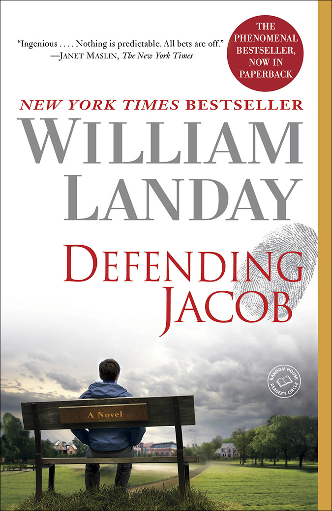 Mystery Book Club - Defending Jacob by William Landay
