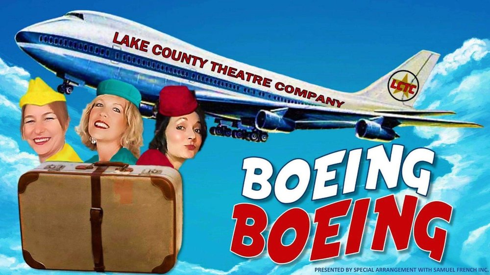 """""""Boeing Boeing"""" is presented by special arrangement with SAMUEL FRENCH, INC. by Marc Camoletti; Translated by Beverley Cross & Francis Evans."""
