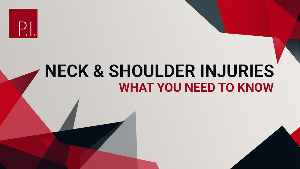 Neck And Shoulder Injuries: What You Need To Know