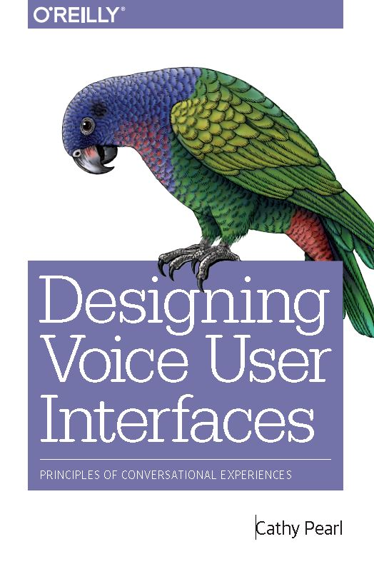 Cathy Pearl - Voice User Interface Designer