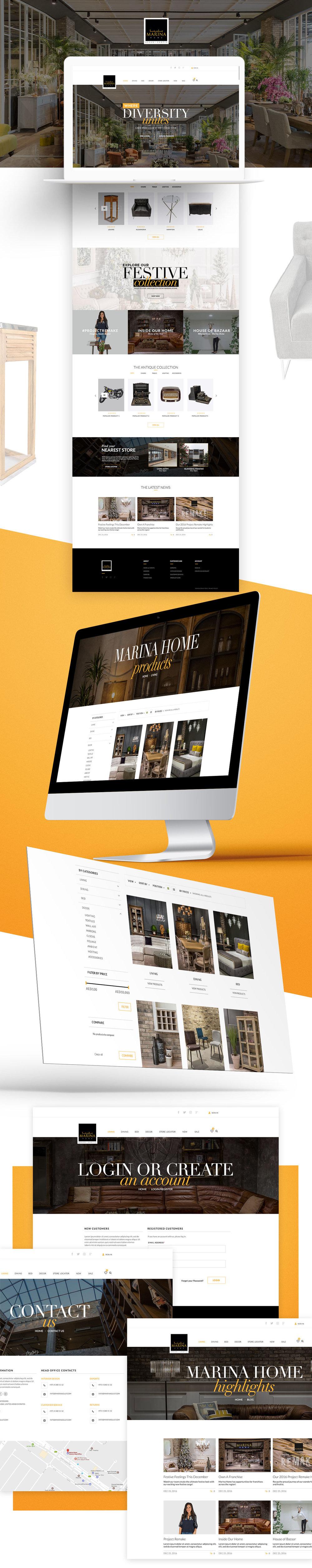marina home website valerie sandoval