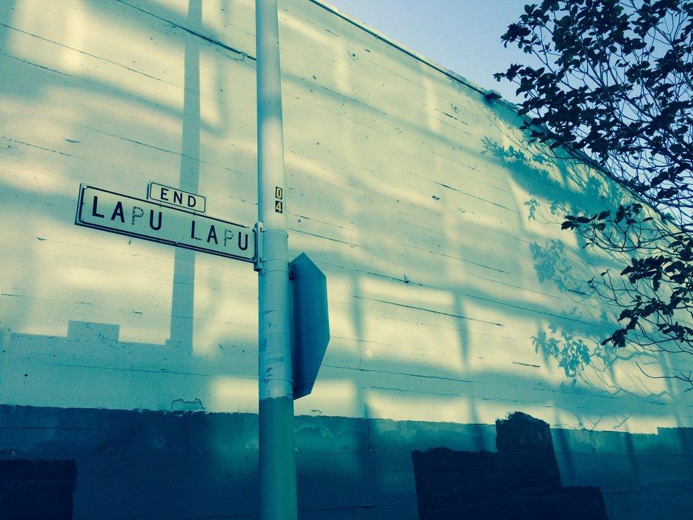 la rue  Lapu Lapu  à San Francisco