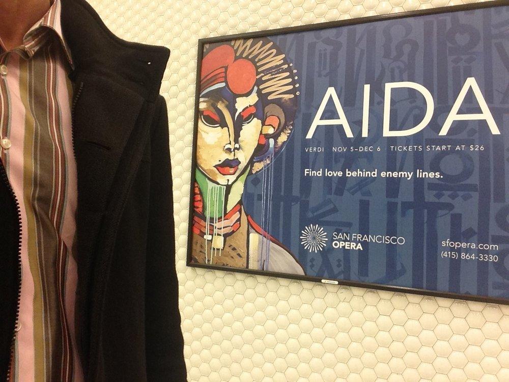Aida , l'amour impossible  entre  clans rivaux