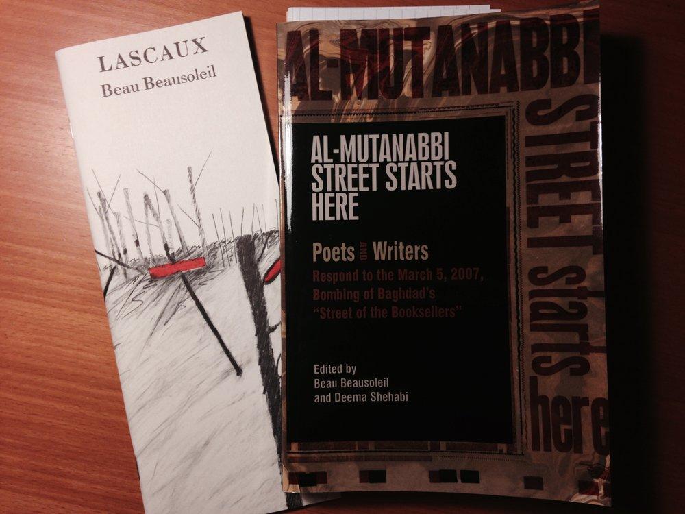 Lascaux  et   Al-Mutanabbi starts here  , par Beau Beausoleil