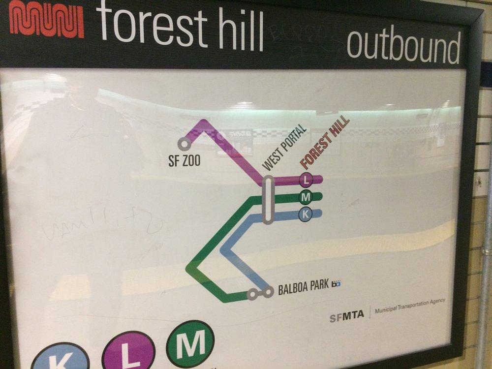à San Francisco, quand on prend les lignes KLM, ce n'est pas l'avion mais le métro