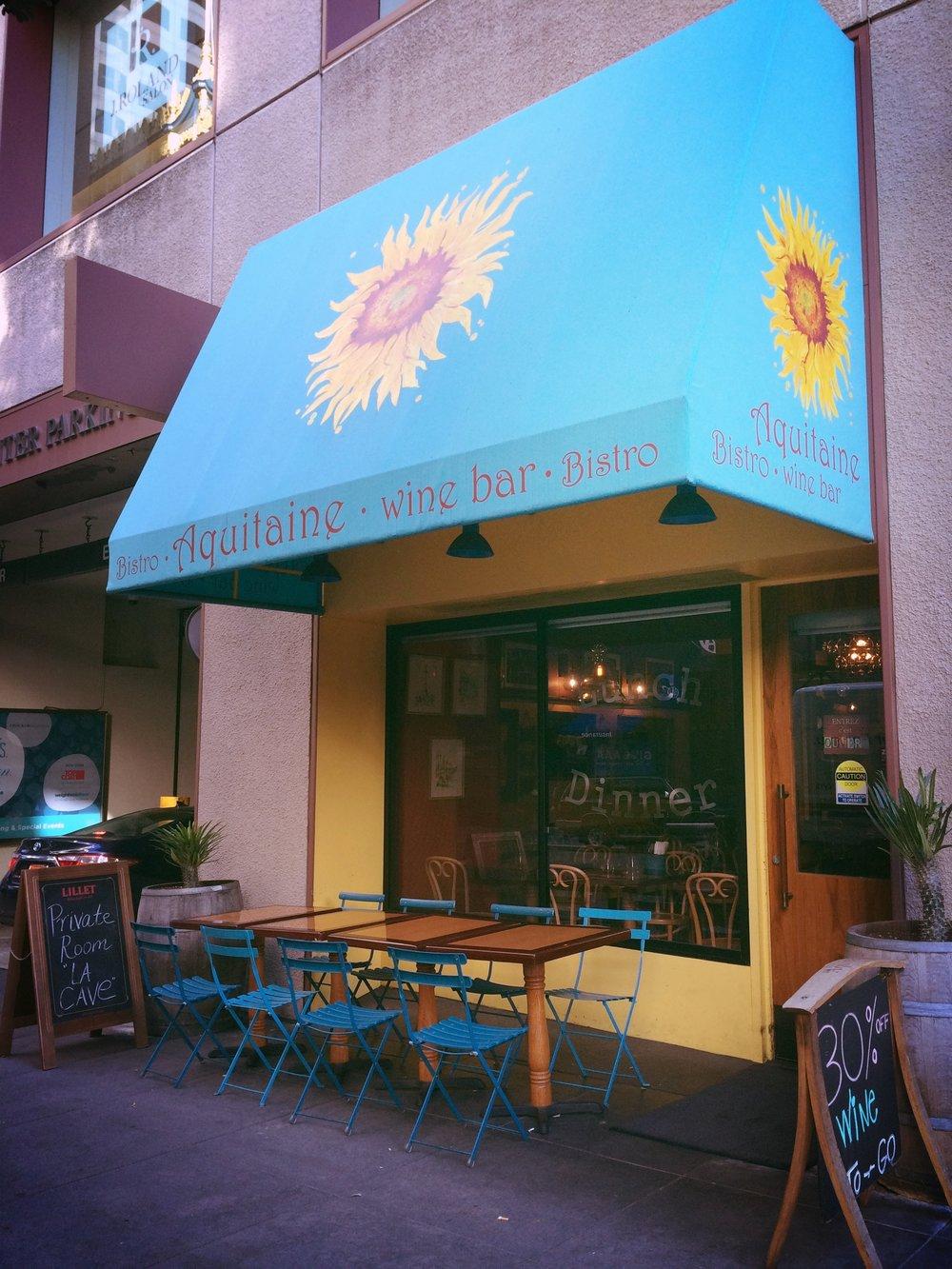 Les couleurs de Van Gogh et un grand choix de vins de Madiran (  Aquitaine , 175 Sutter Street )