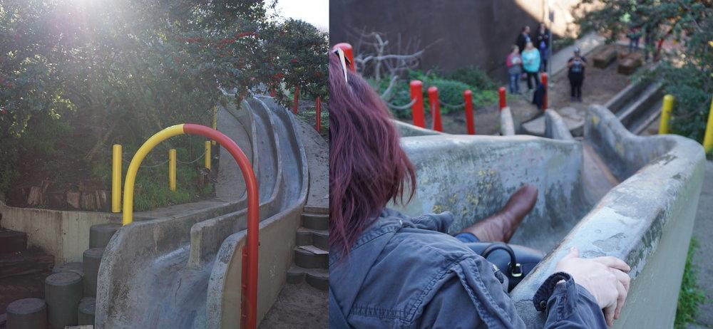 Au  Seward Mini Park , frissons garantis pour les petits et les grands