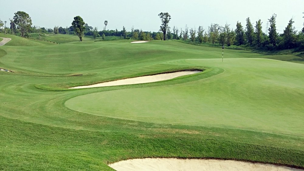 Significant Undulations In the Fairways, Roughs and Even Some Greens With Large Runoffs From Many of the Elevated Greens Create Many Irrigation Challenges