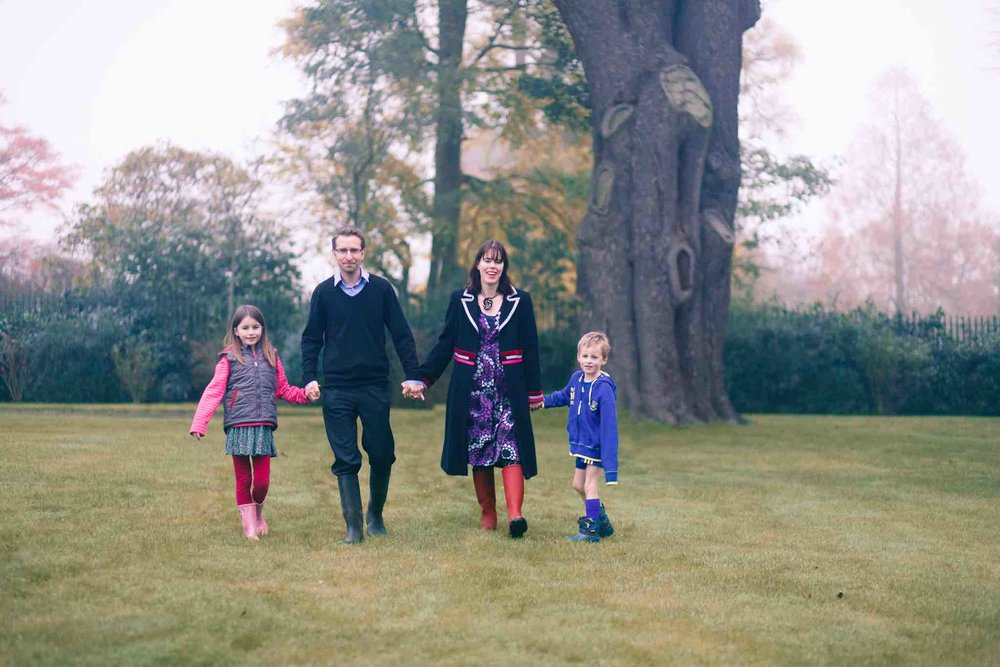 My lovely family - Naomi, Nia and John (photo by the amazing Annie Crossman Photography)