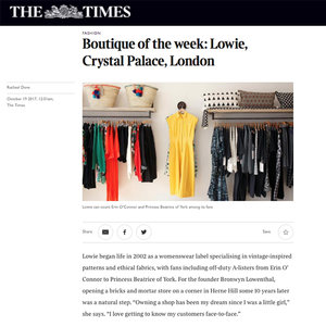 Lowie, The Times