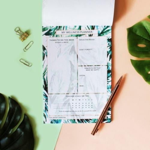 Palm Leaf Planner - £7