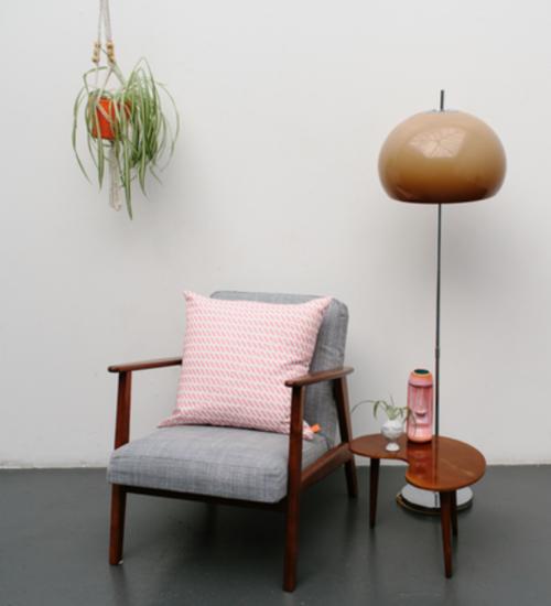 Laura Spring Print Cushion- £85