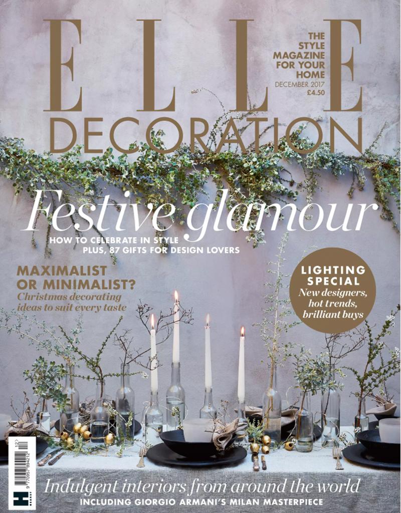 Elle Decoration, December 2017
