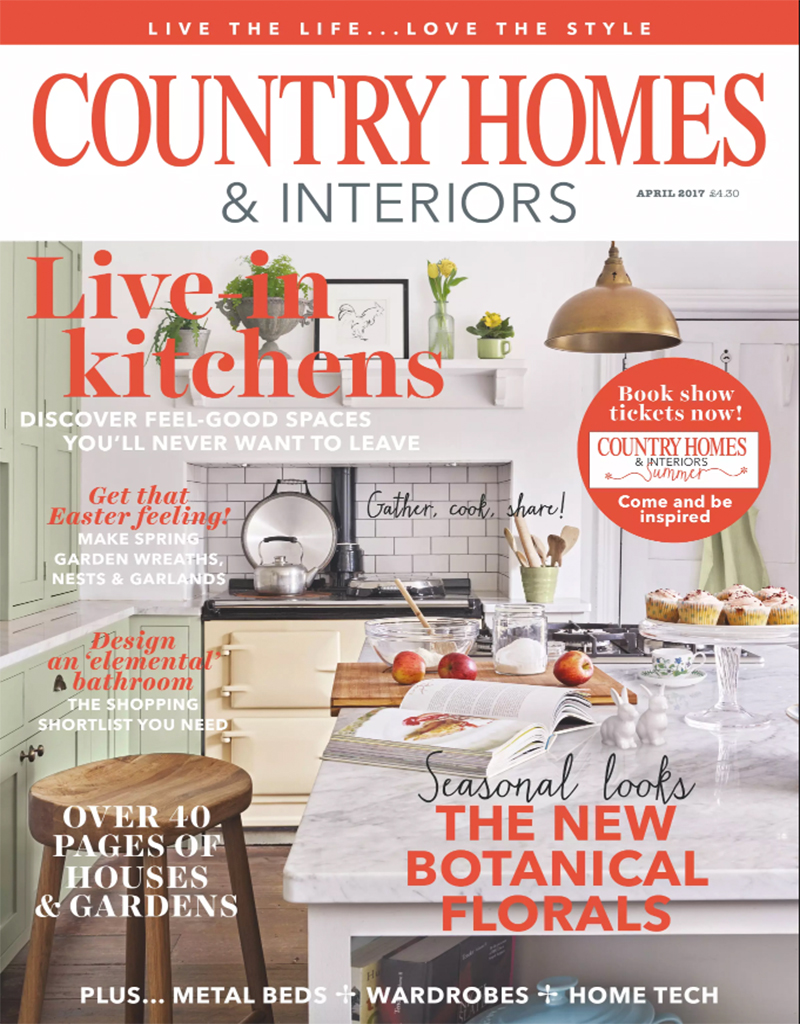 Country Homes & Interiors, April 2017