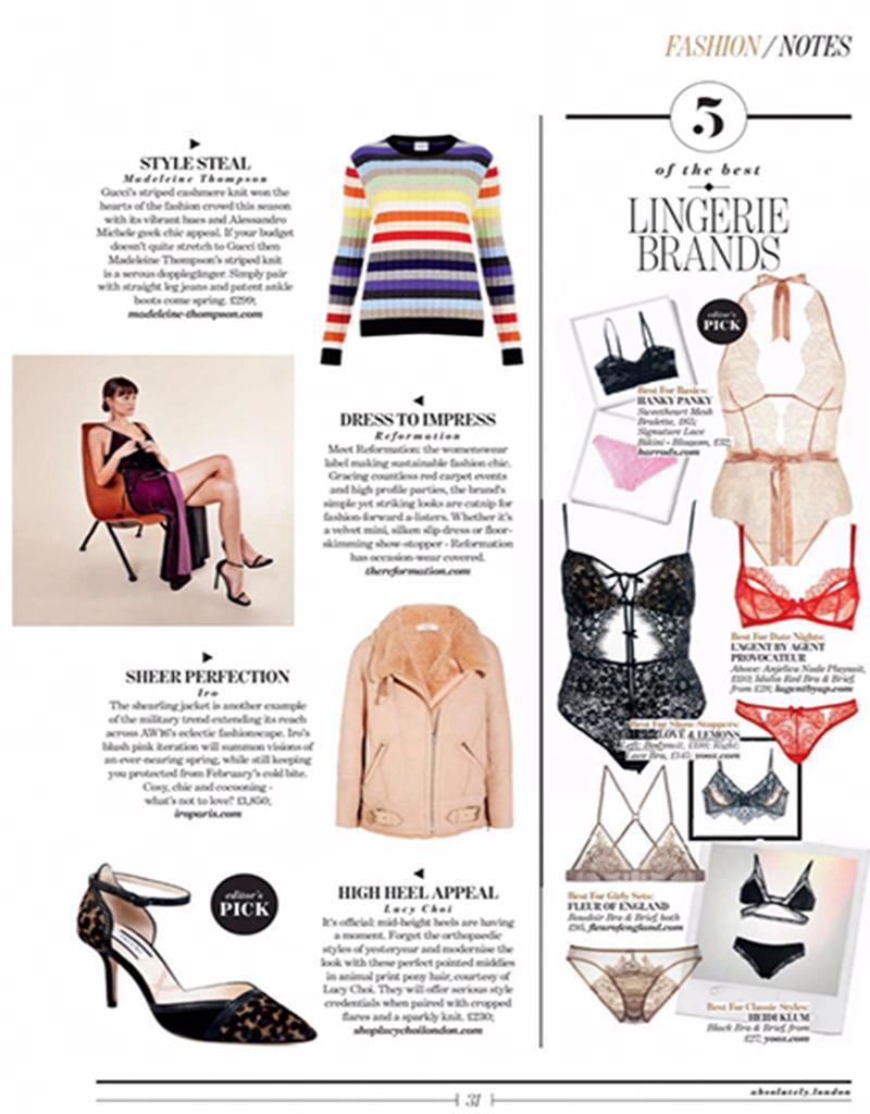 Hanky Panky, editor's pick of lingerie brands
