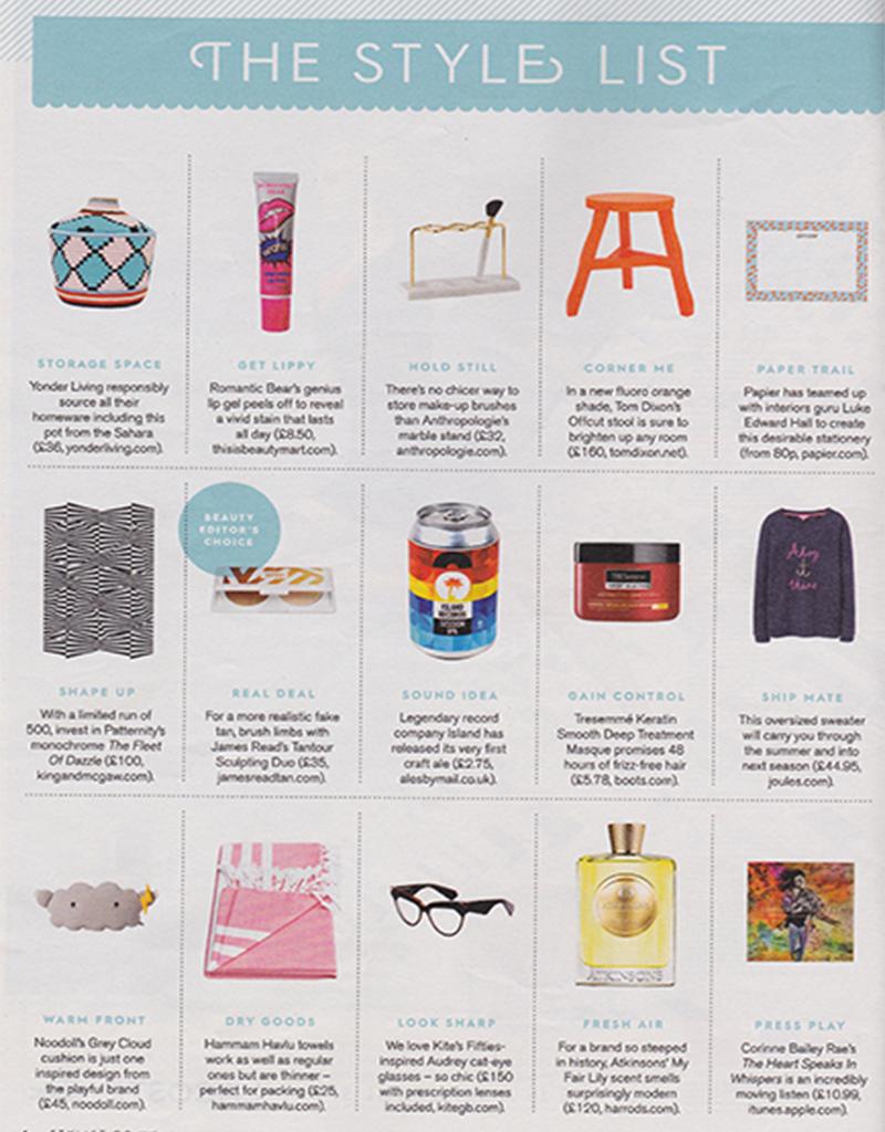 Hammam Havlu towel featured in 'The Style List'