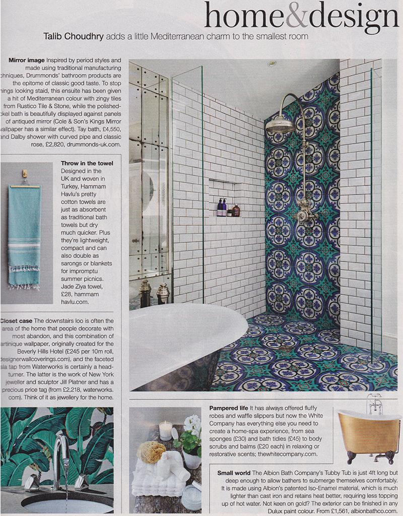 Hammam Havlu in Telegraph's Home & Design feature
