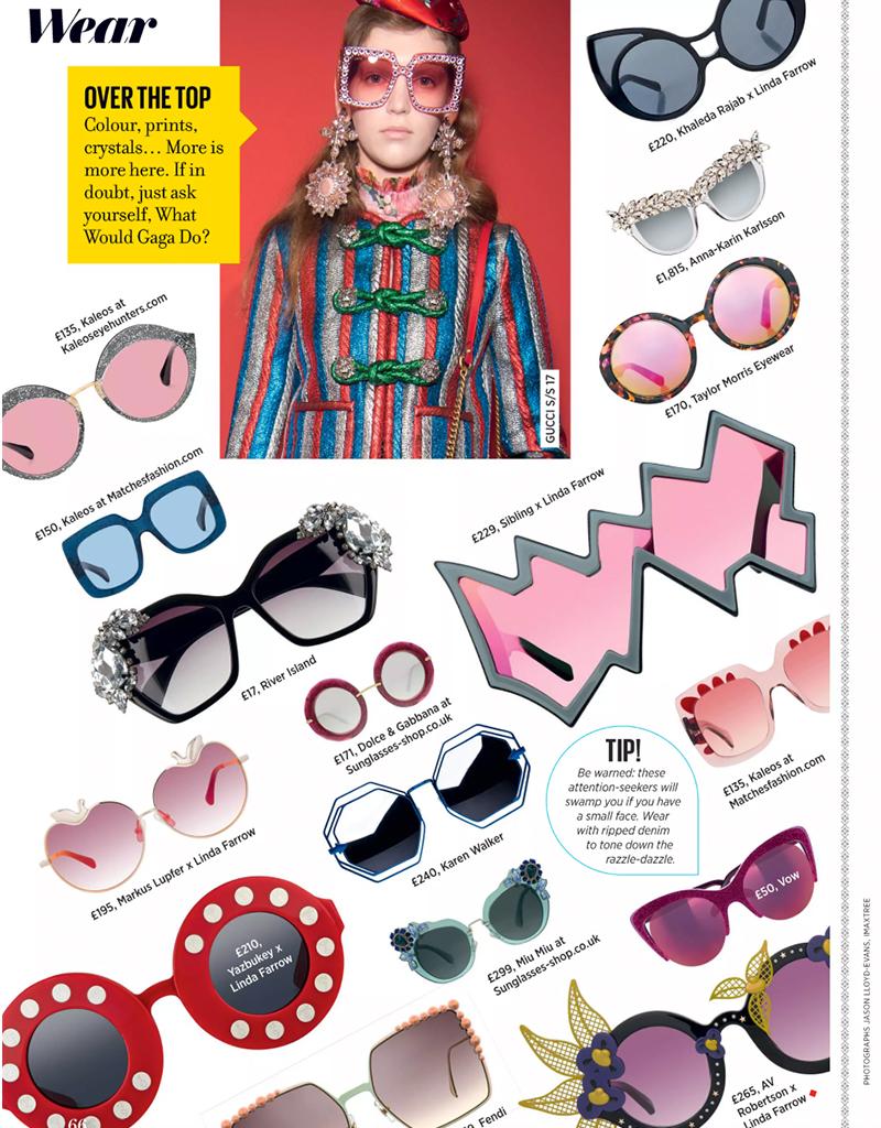 Vow London, Mia Pink Sunglasses
