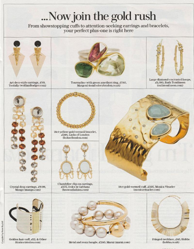Toolally, Art Deco earrings