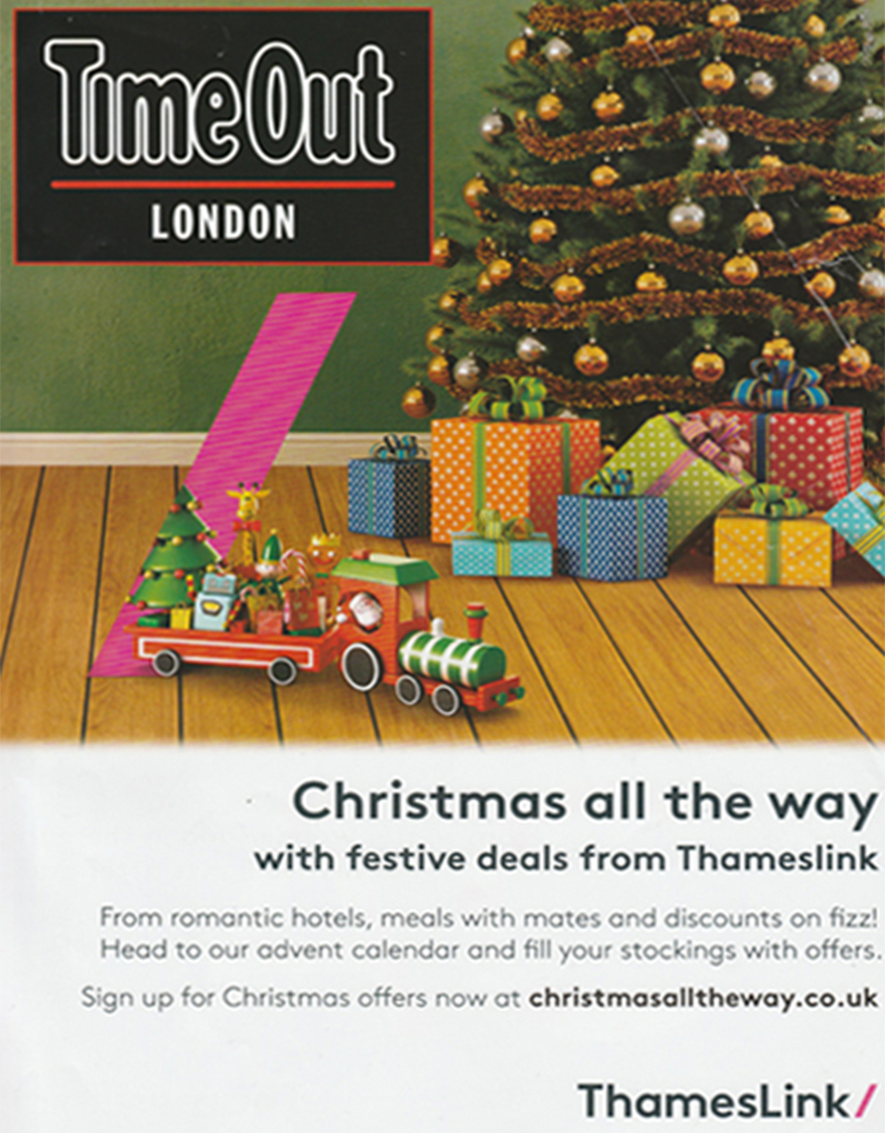 Time Out London, December 2016