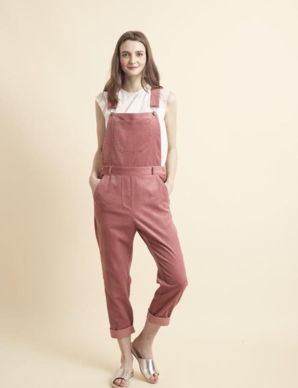 Pink Corduroy Dungarees , £115