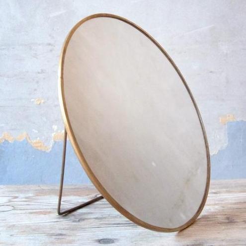 Round Brass Mirror - £49.99