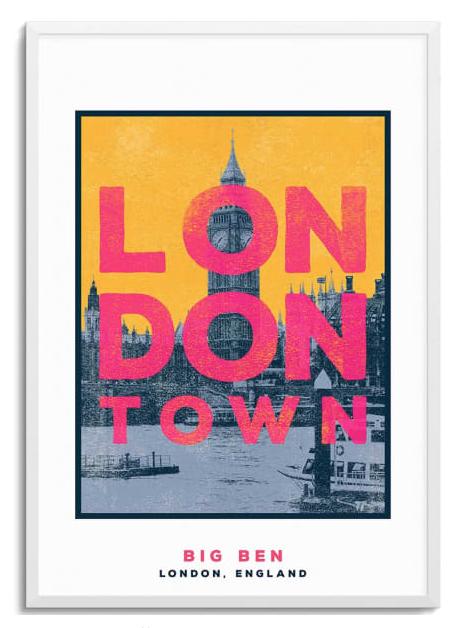 London Town Print - £26