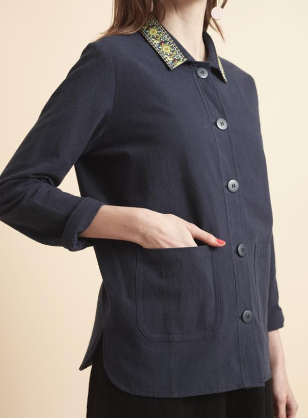 Lowie Folk Ribbon Workwear Jacket, £165