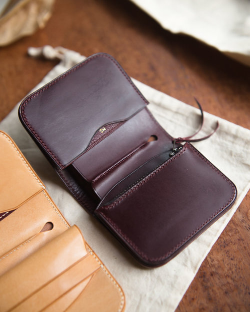 Mill Handmade Leather Goods Japanese Wallet