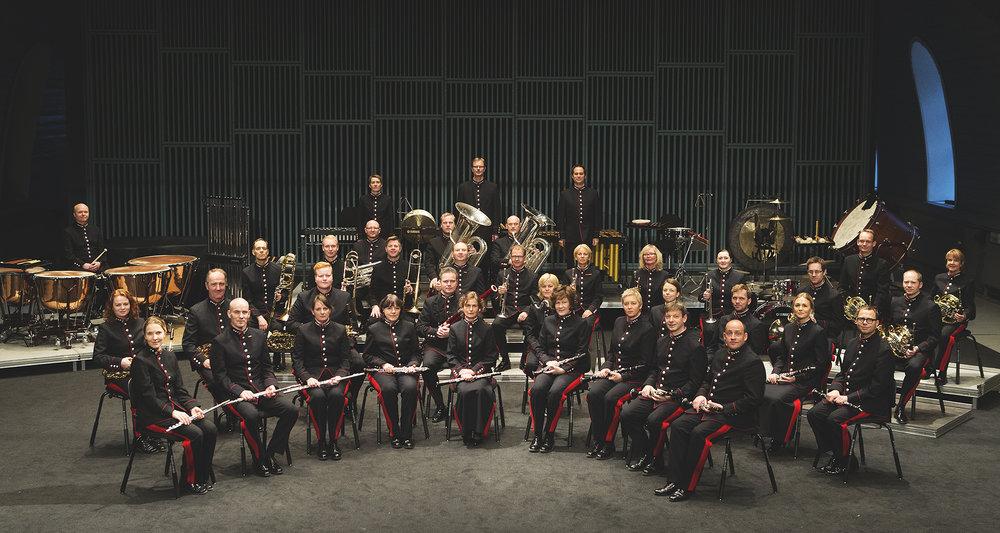 Forsvarets stabsmusikkorps. Foto: Forsvarets stabsmusikkorps