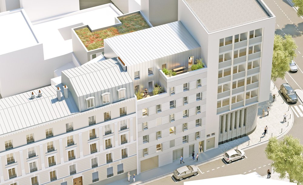 20 logements, Saint Denis