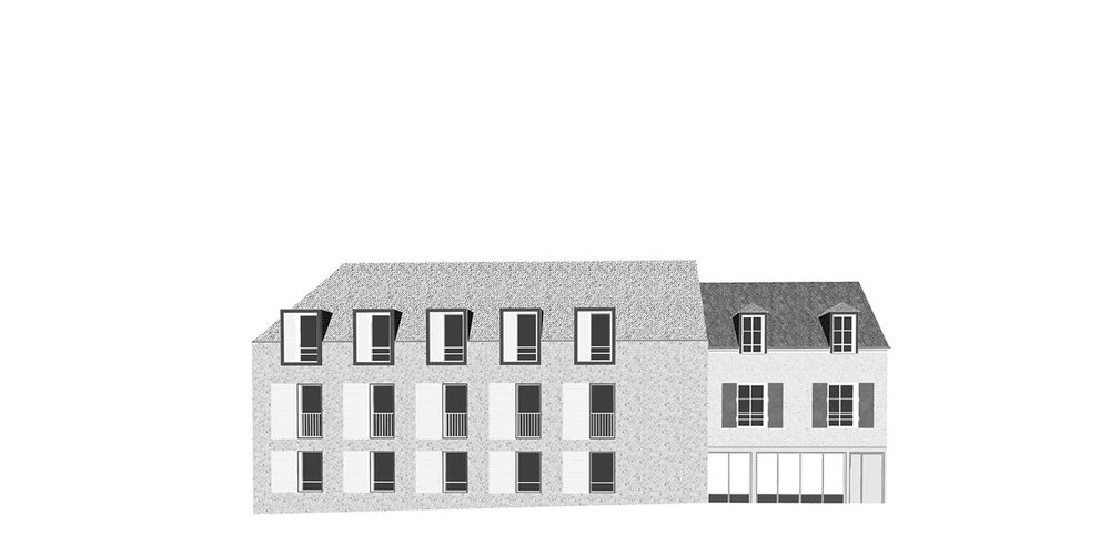 Saint Brice, 32 logements, en construction