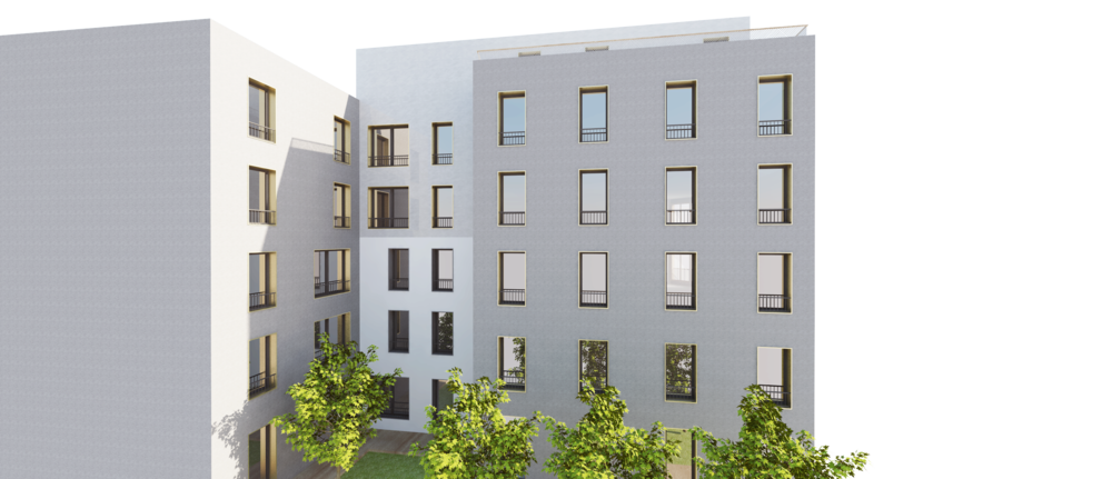 28 logements, Saint Denis