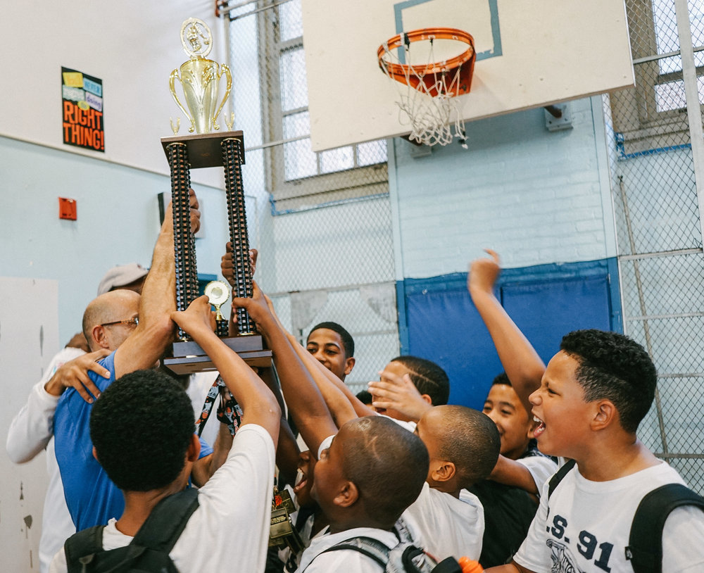 The P.S. 91 Tigers are now the 2017 After-School Athletic Program (A.S.A.P.) champions!