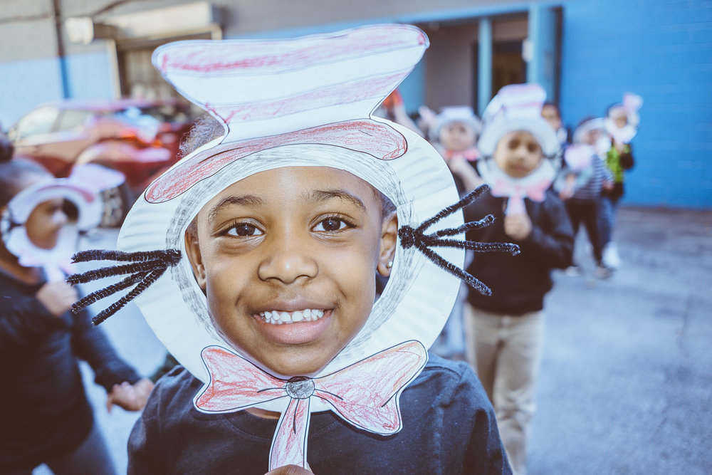 Kindergarten students had a blast at the P.S. 91 Character Parade.