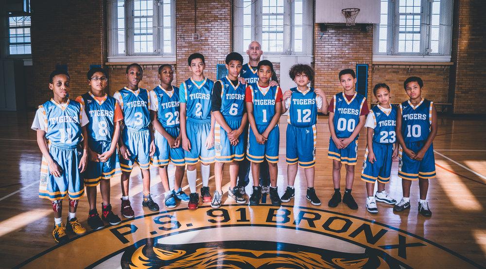 The P.S. 91X Tigers are currently 5-1 in the A.S.A.P. ( After School Athletic Program)League.