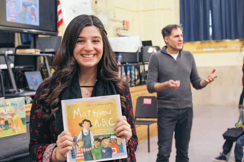 Author Peter Catalanotto Helps PS 91X Students Become Better Illustrators And Writers