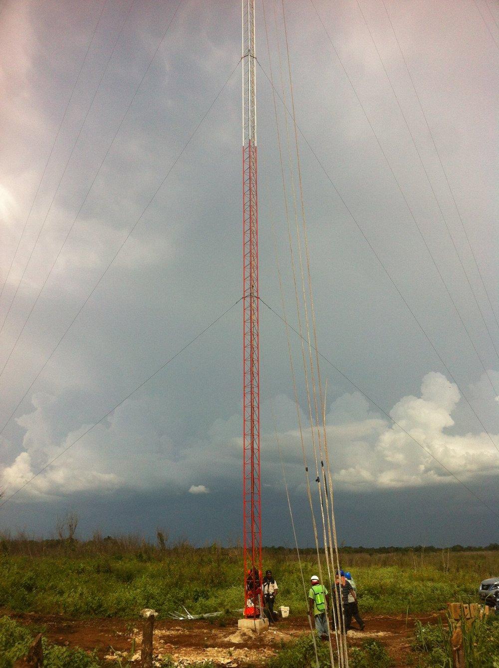 Met Mast Installation