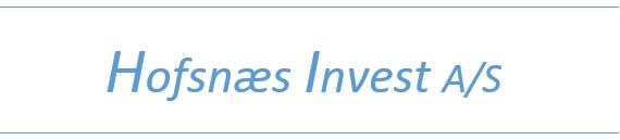 Hofsnæs Invest AS - Investerings selskapKontakt: frode@hofsnes.no