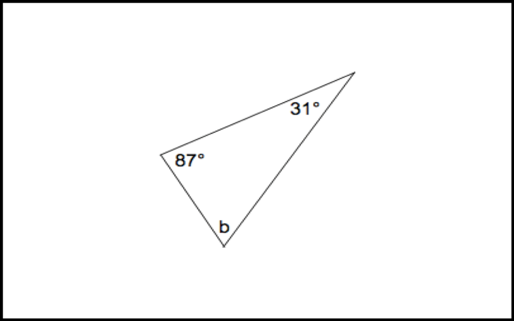 TRIANGLE ANGLES