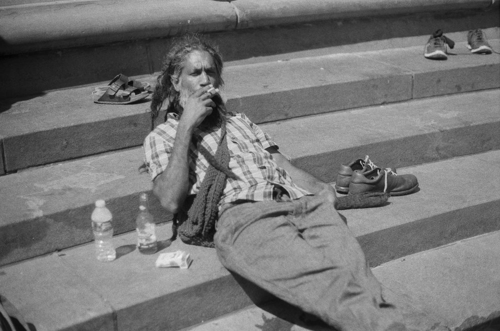 Mentor Meshach. Washington Square Park. 2018