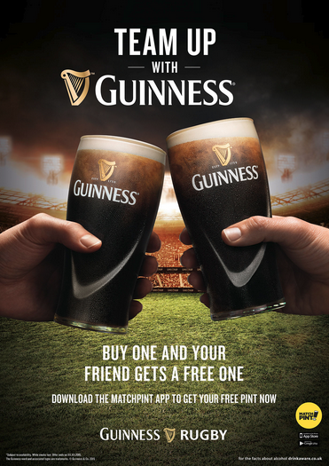 GUINNESS RUGBY WORLD CUP  Agency - Geometry @ JWT Client - Diageo Creative Director - Richard Morgan Senior Project Manager - Anthony Evangelista Photographer - Jonathan Knowles