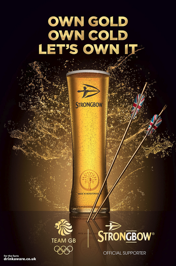 STRONGBOW  Agency - Adam&EveDDB Creative Director - Frank Ginger Creative Team Sali Horsey and Zoe Nash Creative Producer - Nicola Applegate Photographer - Jonathan Knowles