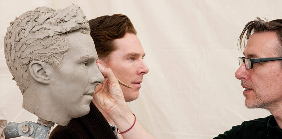 BENEDICT CUMBERBATCH  Madame Tussauds London Sculptor - John Cormican Photographer - Mel Brown Copyright - Merlin Magic Making