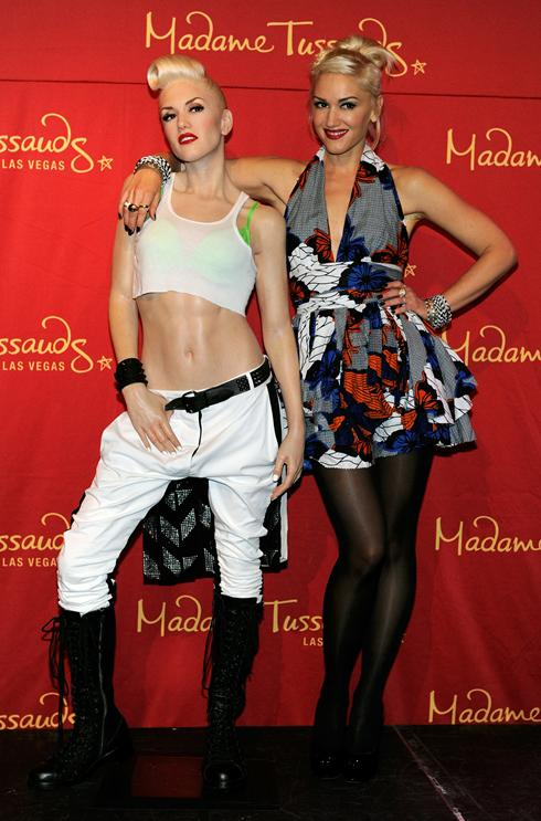 GWEN STEFANI  Madame Tussauds Las Vegas Figure Photography - Mel Brown Copyright - Merlin Magic Making